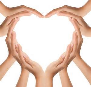 Many Hands make Light Work of the One Heart